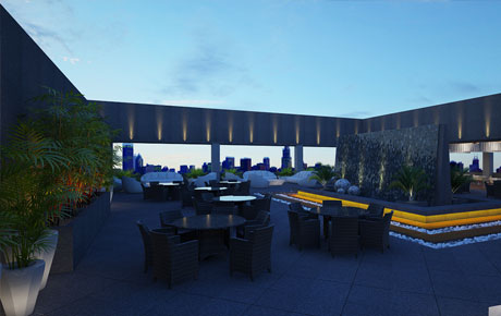 3D visualization of corporate lounge,for XL,GGN.