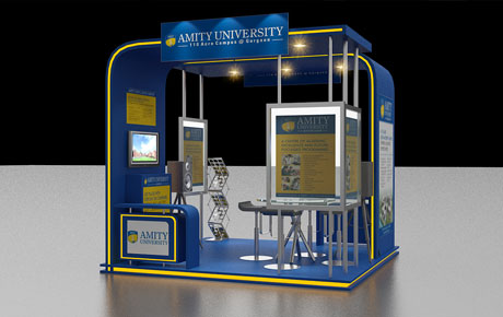 Exibition stall design and visualization