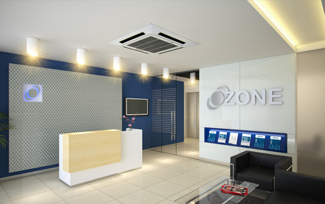 3D visualization Ozone Corporate office